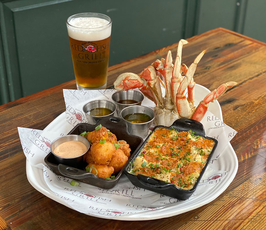 Photo of crab special on table