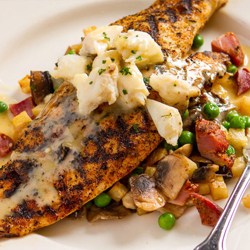 Hickory Grilled Redfish