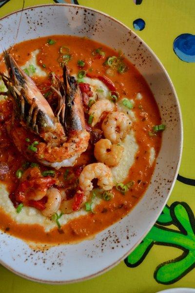 Sautéed Gulf Shrimp & Grits