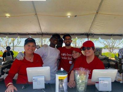 The Team at French Quarter Fest