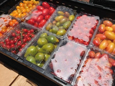 Wide variety of Covey Rise Farms tomatoes for Red Fish dishes
