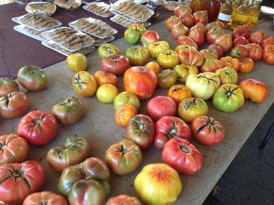 Fresh Covey Rise Farms heirloom tomatoes