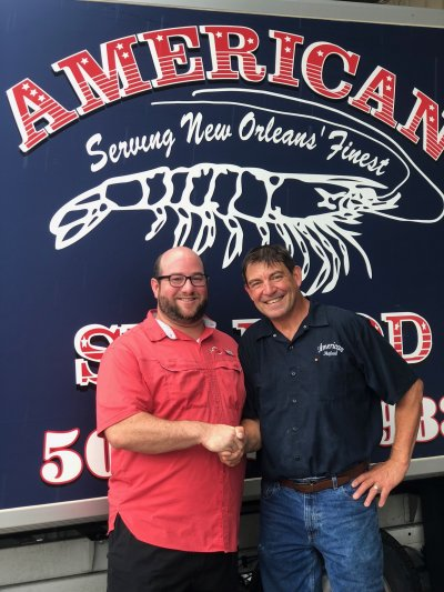 Chef Austin visits Wayne at American Seafood