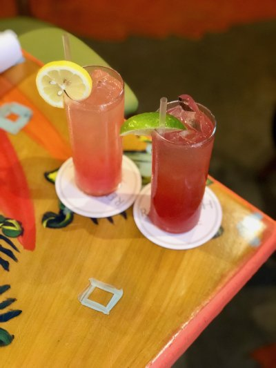 Seasonal lemonades