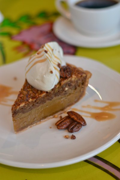 Double Bourbon Pecan Pie