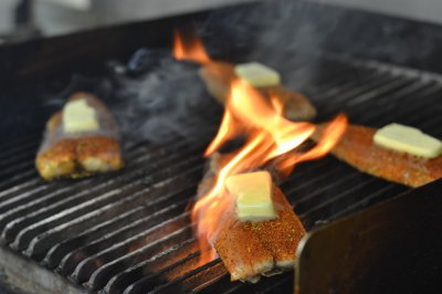 Hickory Grilled Gulf Fish