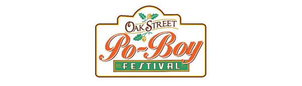 Oak Street Poboy Festival Logo