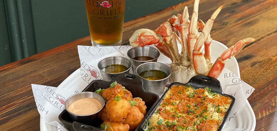 Promotion for Dungeness Crab Leg Special