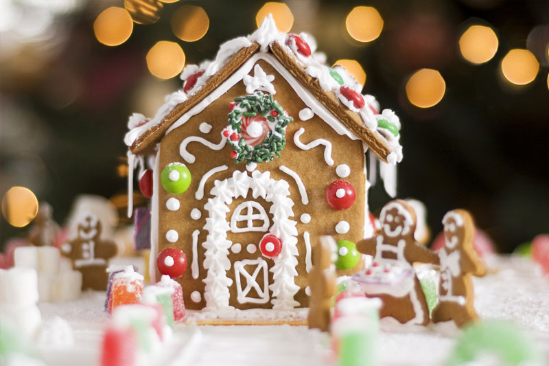 Promotion for Holiday [Gingerbread House] Team Building