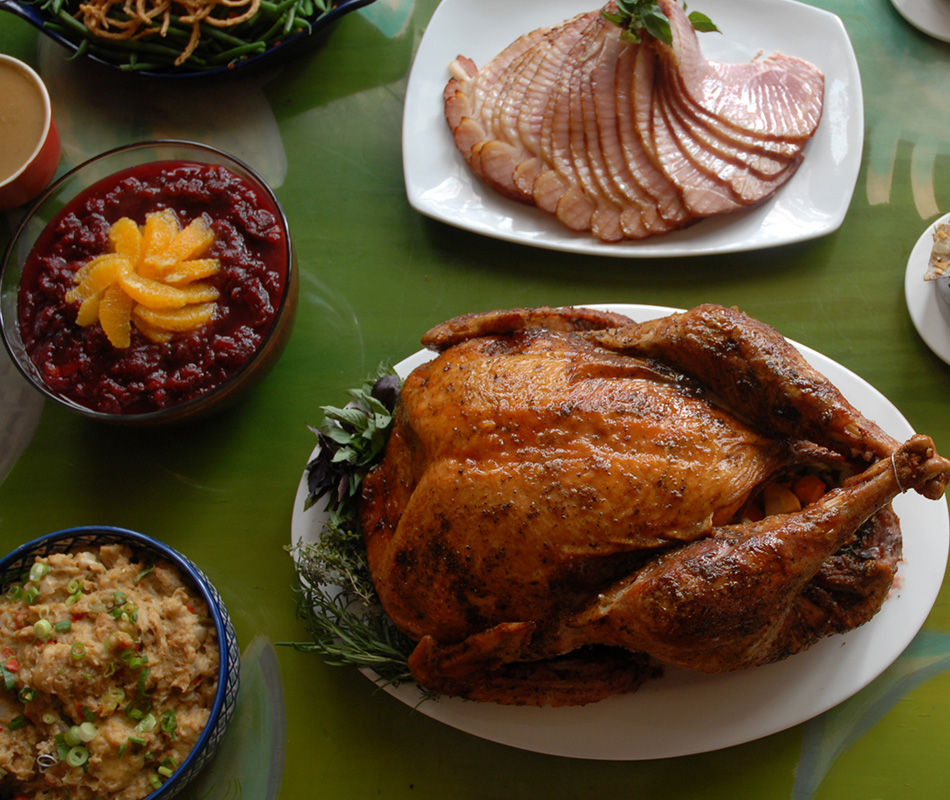 Promotion for Annual Thanksgiving Buffet at Red Fish Grill